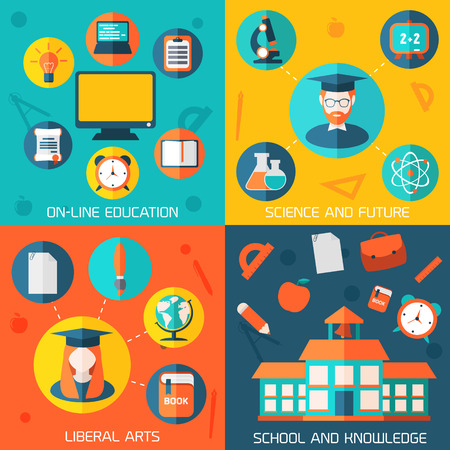 Colorful template for you design, web and mobile applications. Illustration
