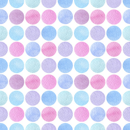 watercolor seamless pattern. Colorful template for you design, prints and illustrations.