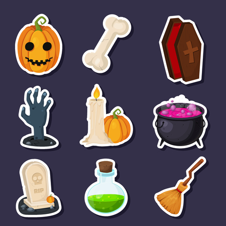 decoction: Cute Halloween icons