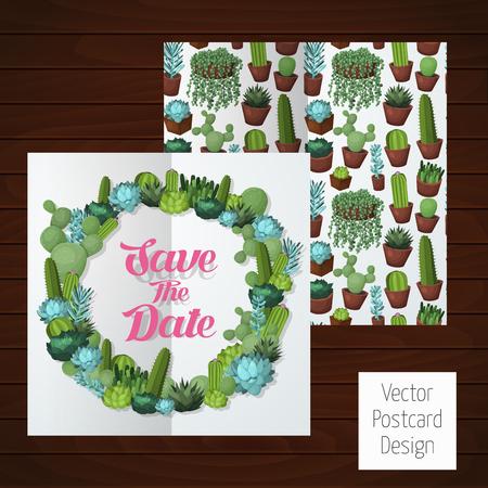 イラスト、グリーティング カード、結婚式の招待のためのカラフルなデザイン要素です。