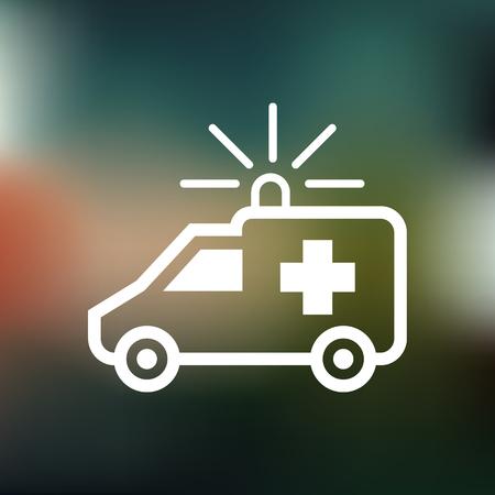 ambulancia: Ambulancia icono