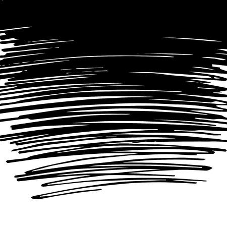scribble: Vector scribble black background.