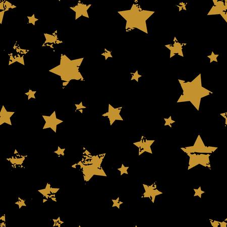 Grunge star patter