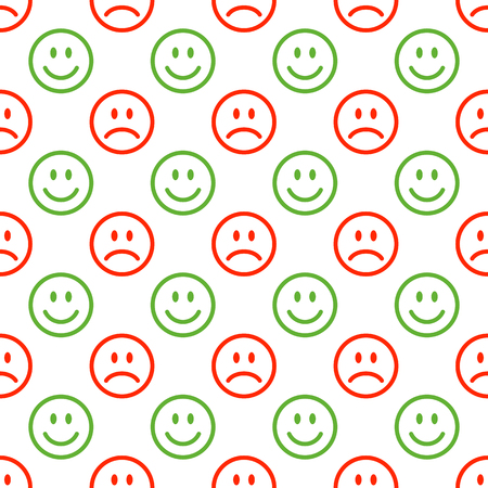 Seamless emoji pattern