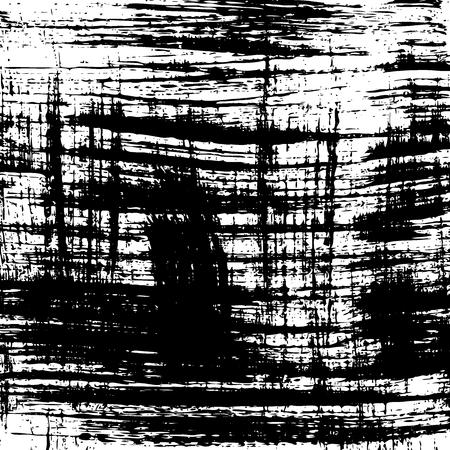 grunge background. Black and white brush stroke pattern