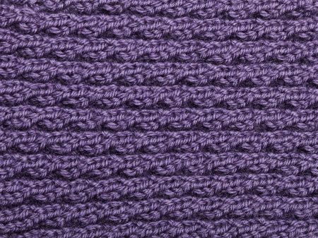Knitted Wool Fabric photo