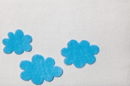 Felted Clouds