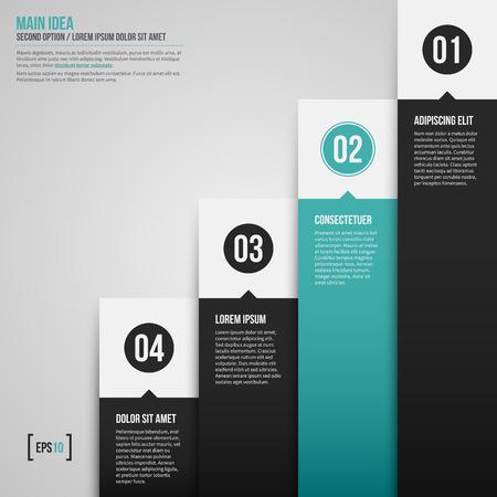tournament chart: Modern corporate chart template. EPS10.