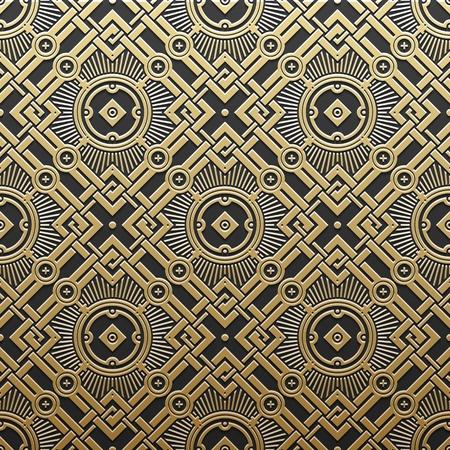 Or fond métallique avec motif géométrique. de luxe de style élégant.