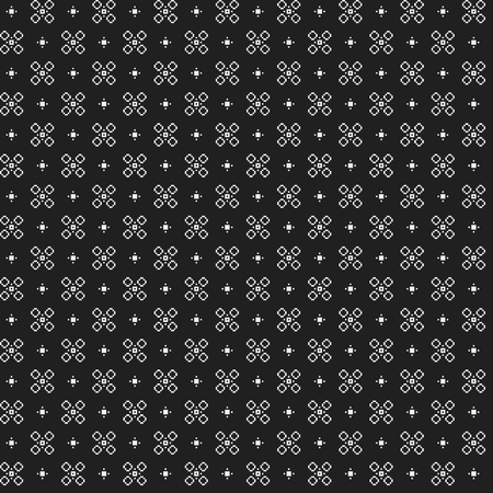 simple: Simple pixelated pattern with monochrome geometric shapes. Useful for textile and interior design. Strict neutral style.