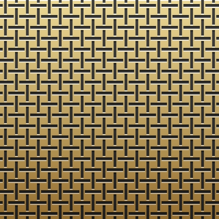 artdeco: Golden metallic background with geometric pattern. Elegant luxury style.