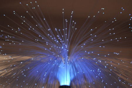 fiber optic lamp: Fiber optic light