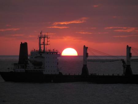 eastern: Eastern Mediterranean Sea sunset