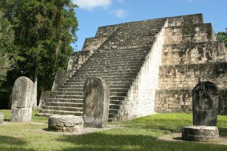 civilizations: Mayan Temple at Tikal, Guatemala