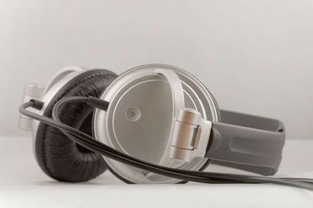 Medium size stereo headphones Stock fotó - 1296916