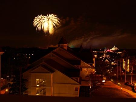 floridian: Walt Disney Worlds Magic Kingdom Fireworks 3-12-08