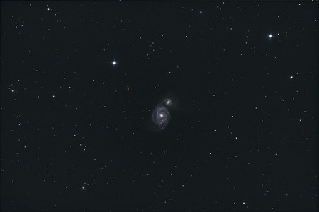 The Whirlpool Galaxy, M51