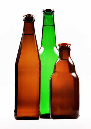 bottle of beer Stock Photo