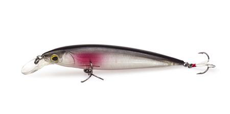 fishing bait isolated on white background photo