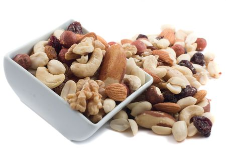 nut shell: mixed nuts