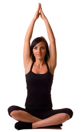 yoga pose photo
