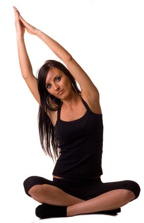 yoga pose Stock Photo - 9508437