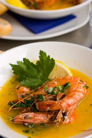 tiger prawns photo