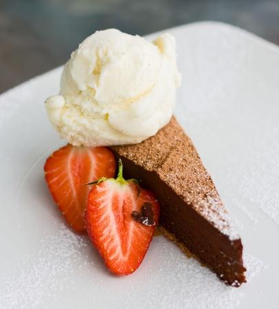 chocolate torte photo