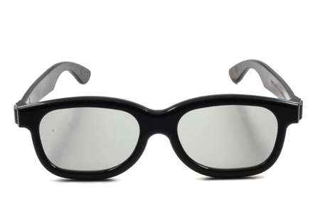 3D cnema glasses.  photo