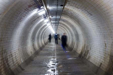 greenwich: greenwich foot tunnel, london.
