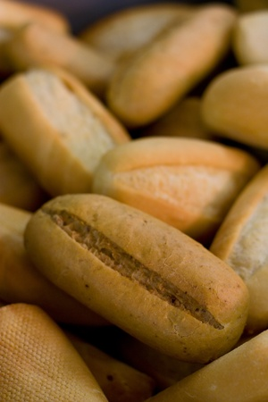 bread rolls photo