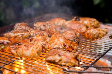 barbecued chicken Stock Photo - 14717113