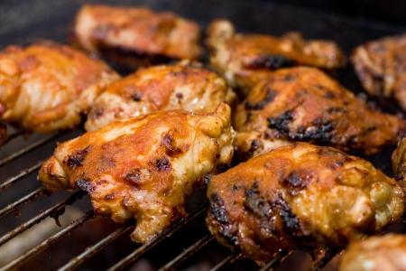 barbacued 닭 스톡 콘텐츠