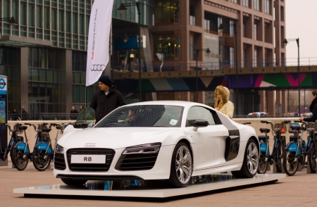 LONDON FEBRUARY TH Audi Showcases Their R Collection On - Audi collection