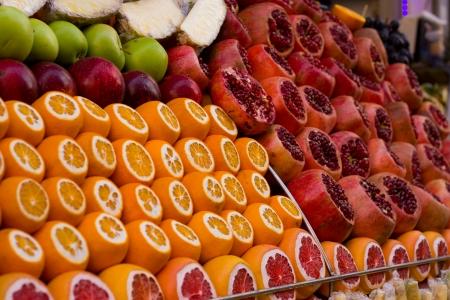 shop display: Shop display of fruit in turky
