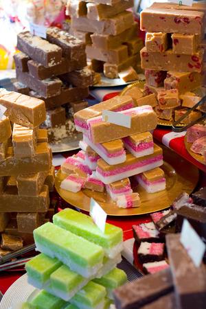 shop display: shop display of sweets