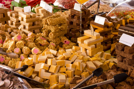 shop display of sweets photo