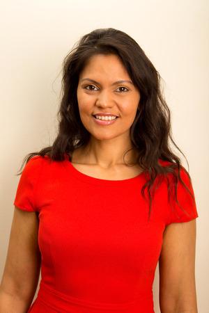 sexy latina: portrait of a beautiful woman Stock Photo