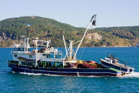 marmara: fishing boat