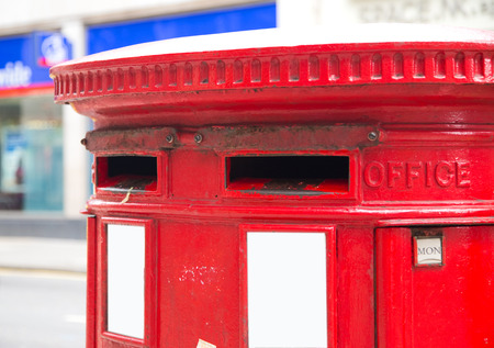 red letterbox photo