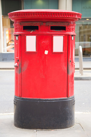 red letter box. photo