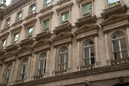 old buildings: London property.
