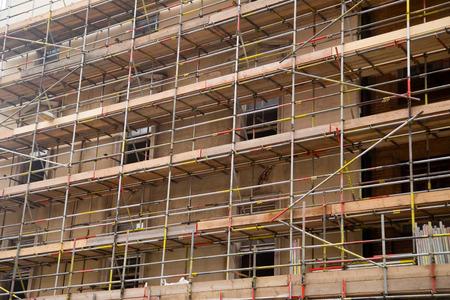 scaffolding. photo