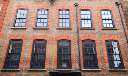 the exterior of a london property. photo