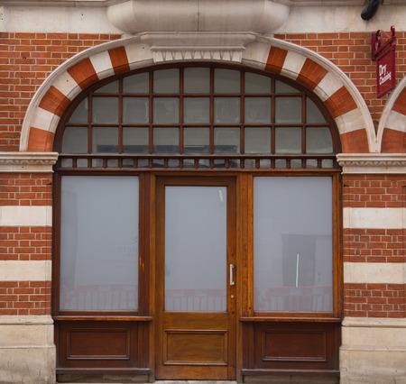 shop front. Banque d'images