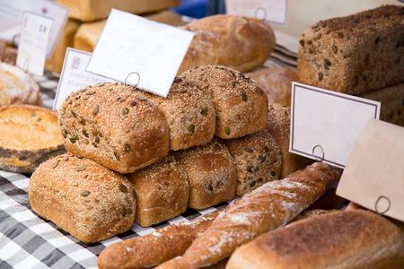 bread shop: negozio di pane Archivio Fotografico