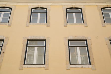 mediteranean: typical portuguese house