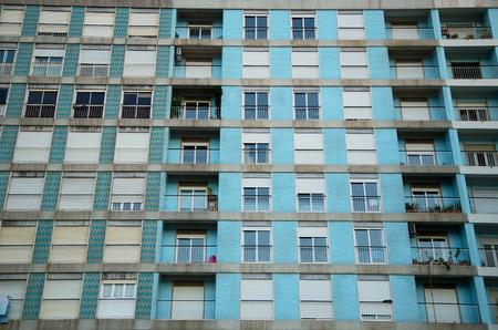 block of flats: modern block of flats.