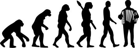 an accordion: Acorde�n Evoluci�n
