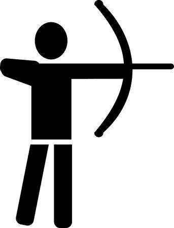 longbow: Archery Pictogram